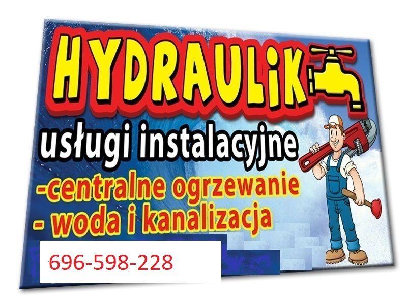 Hydraulik-przyjmę zlecenia