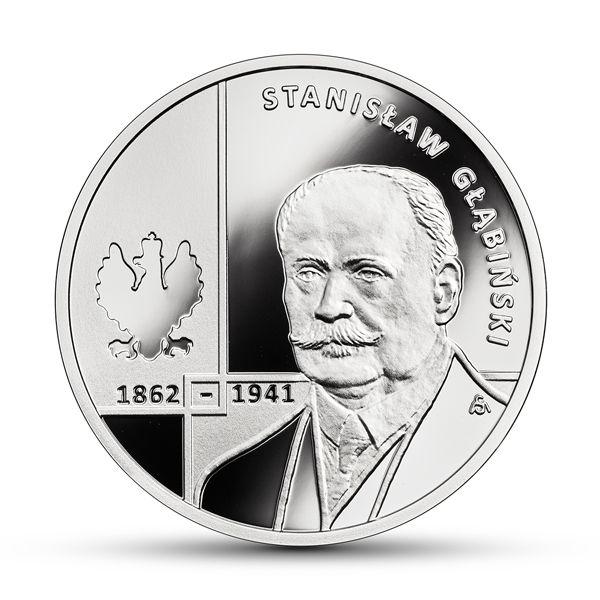 10 zł Stanisław Głąbiński Moneta Srebrna !!! TANIO !!!