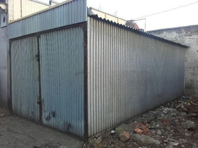 Garaż blaszany blaszak