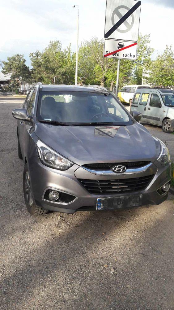 Hyundai ix 35 1 wlasciciel  45 tys przebieg