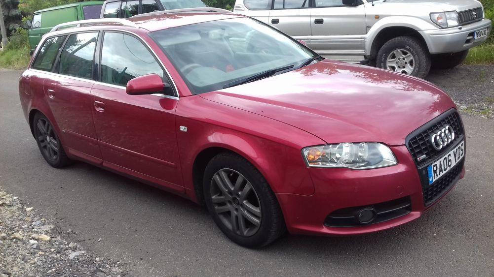 Audi A4 B7 2.0 TDI anglik 2006 r.
