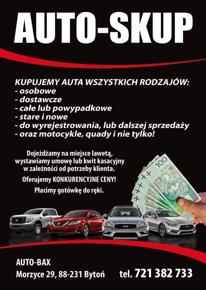 Kupię Auto lub motocykl Włocławk i okolice
