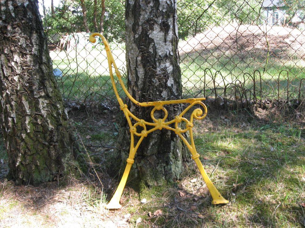 Sprzedam żeliwne nóżki pod ogrodowe ławki