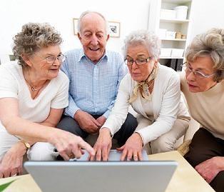 Korepetycje z obsługi komputera i internetu dla seniora 60 +