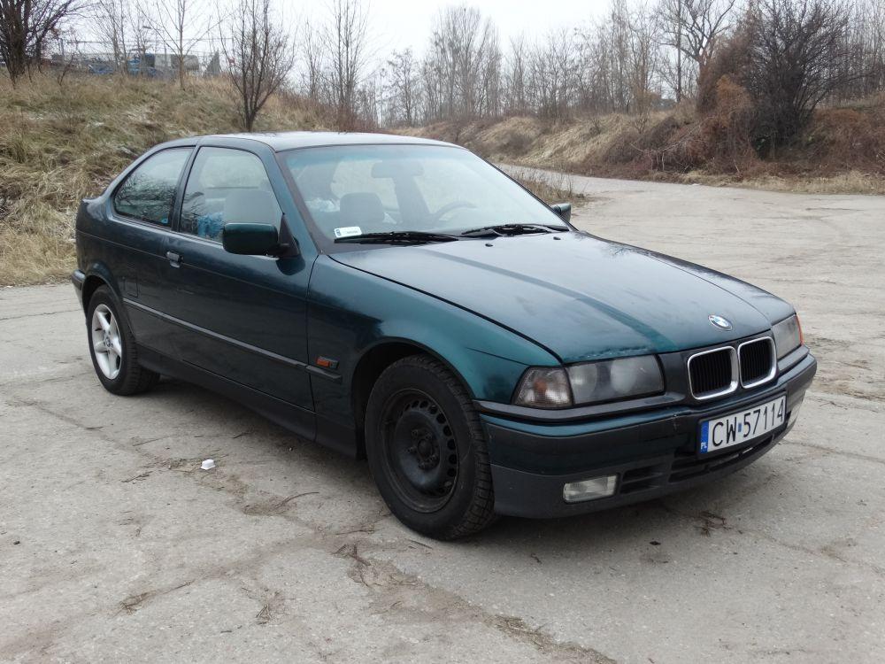 BMW e36 1.6 ben+gaz