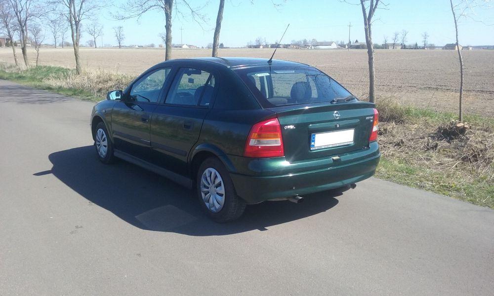 Opel Astra 1.6 8v 75KM- LPG 2 Komplety Kół