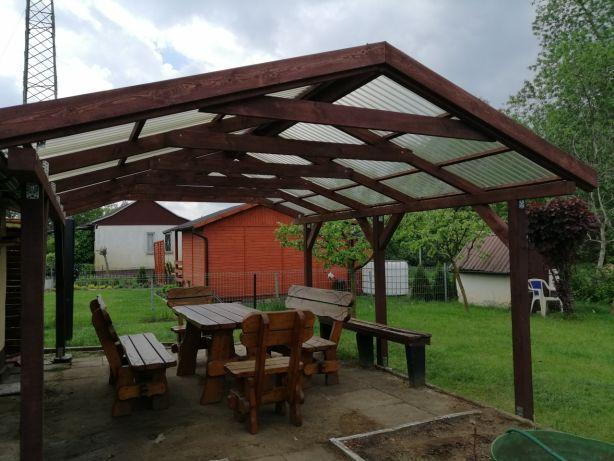 Architektura ogrodowa, wiaty, tarasy, zadaszenia, altany