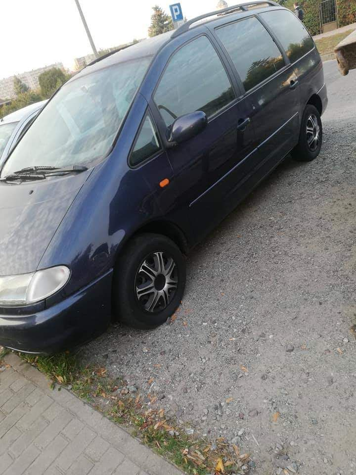 Vw sharan 1.8 turbo benzyna plus gaz
