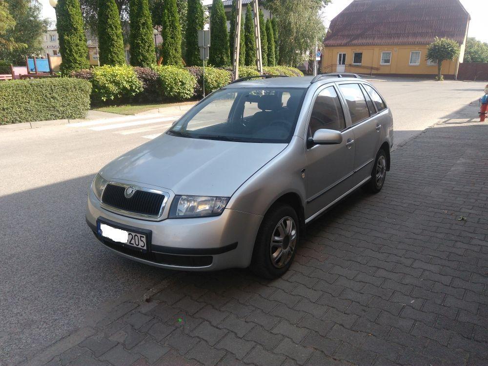 Skoda Fabia Kombi  -  PL  -  1,4