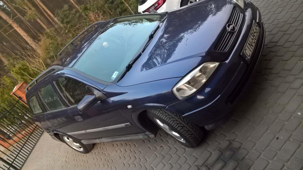 Opel Astra Opel Astra II G stan tech bdb KLIMA elek. szyby 6l/100km