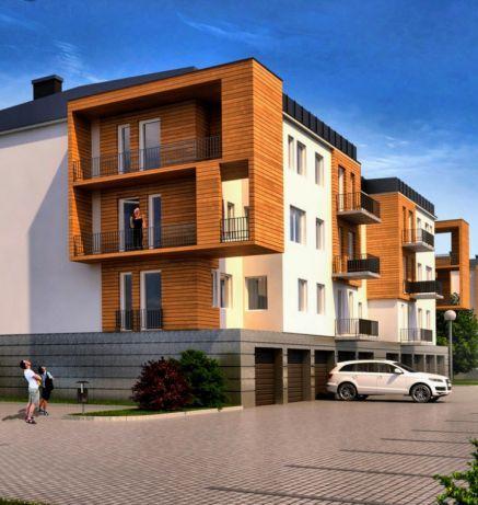 Nowe rozkładowe mieszkanie w stanie deweloperskim ul Rysia