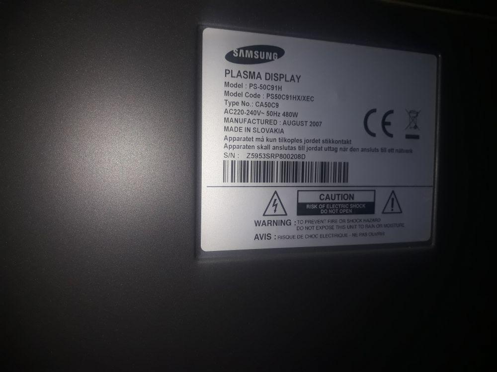 Telewizor Samsung 50cali + konsola ps 3 i jedenaście gier