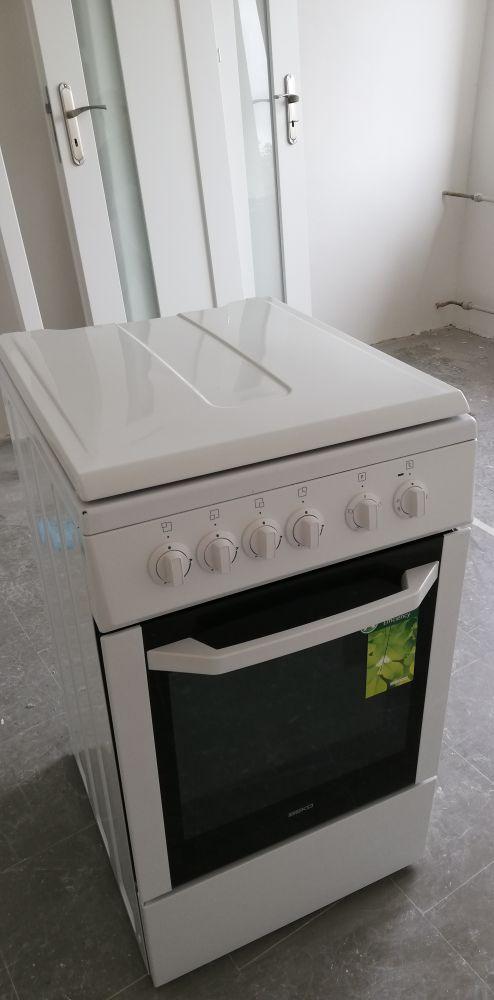 Kuchnia gazowo-elektryczna